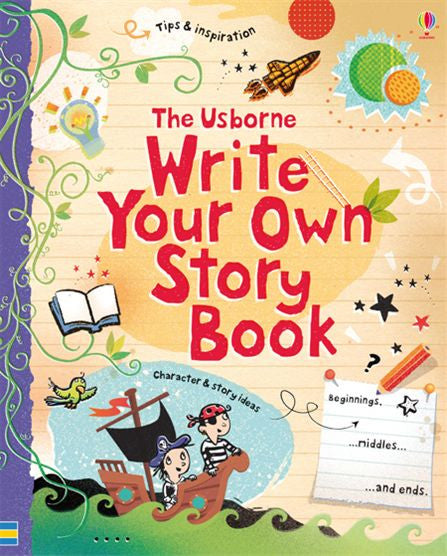 Write Your Own Story Book - MintMouse (Unicorner Concept Store)