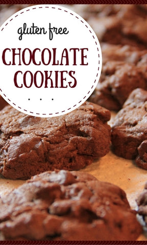 Recipe for Gluten Free Chocolate Cookies