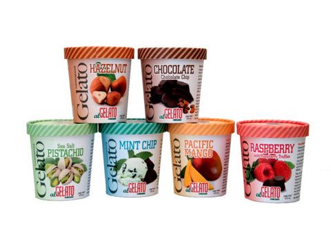 Six Gelato Pint Variety Pack