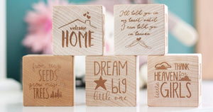 NEW Keepsake Blocks!