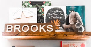 Building a Bookshelf Gallery Wall: Inspire your little reader with an interactive floating library!