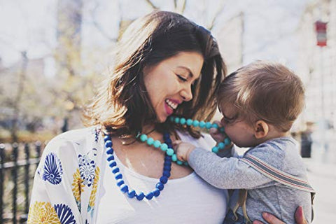 teething necklaces for mom - chewbeads