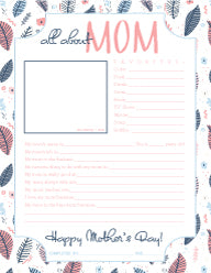 Mother's Day Printable PDF