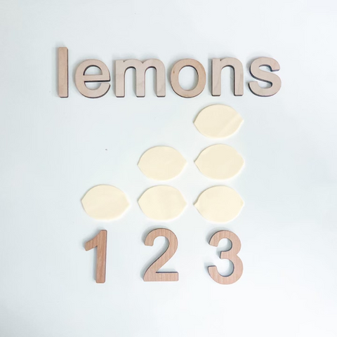 Counting Lemons Play Based Learning Activity