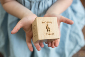 Personalized Keepsake Blocks Marking Child's Milestones