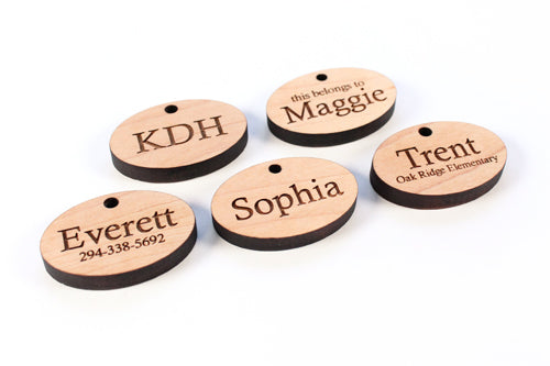 Personalized Zipper Pulls | Smiling Tree Toys