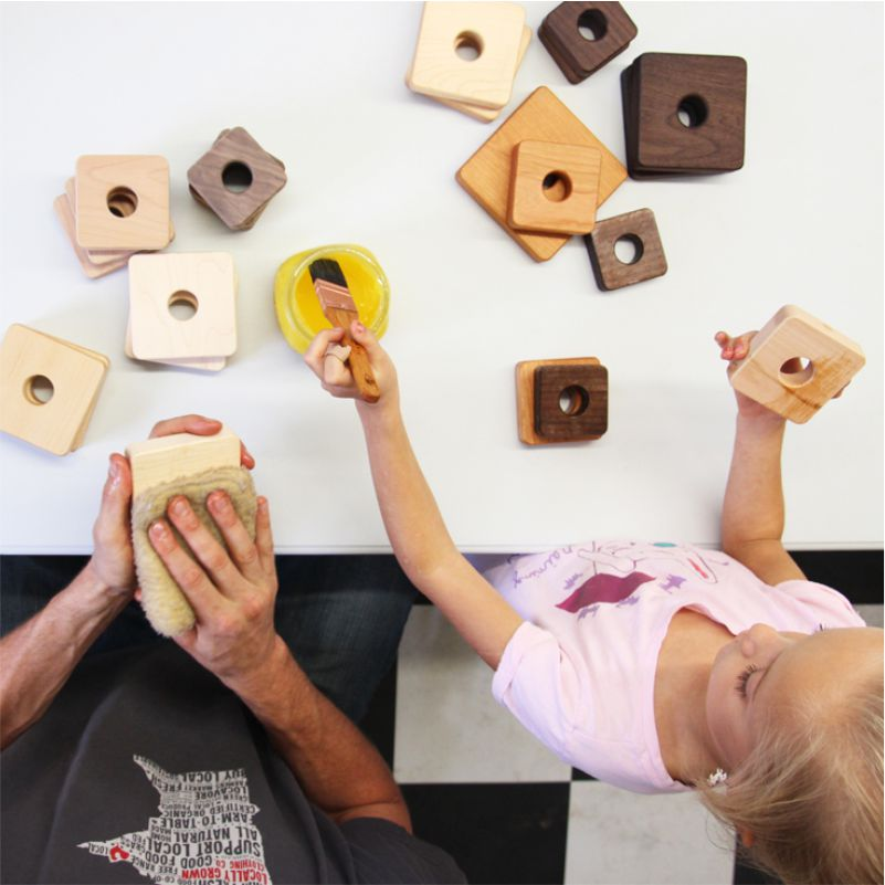 handmade organic wooden toys for kids