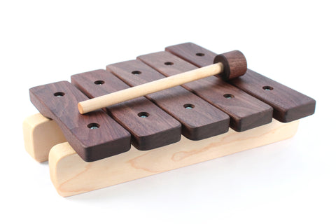 personalized wooden xylophone