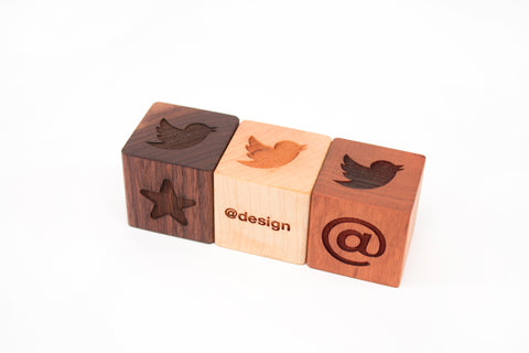 custom engraved wooden blocks by Smiling Tree Toys