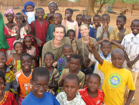 Justin & Kathleen, Peace Corps volunteers serving in Niger, Africa