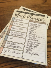 Personalized Weekly Meal Planner