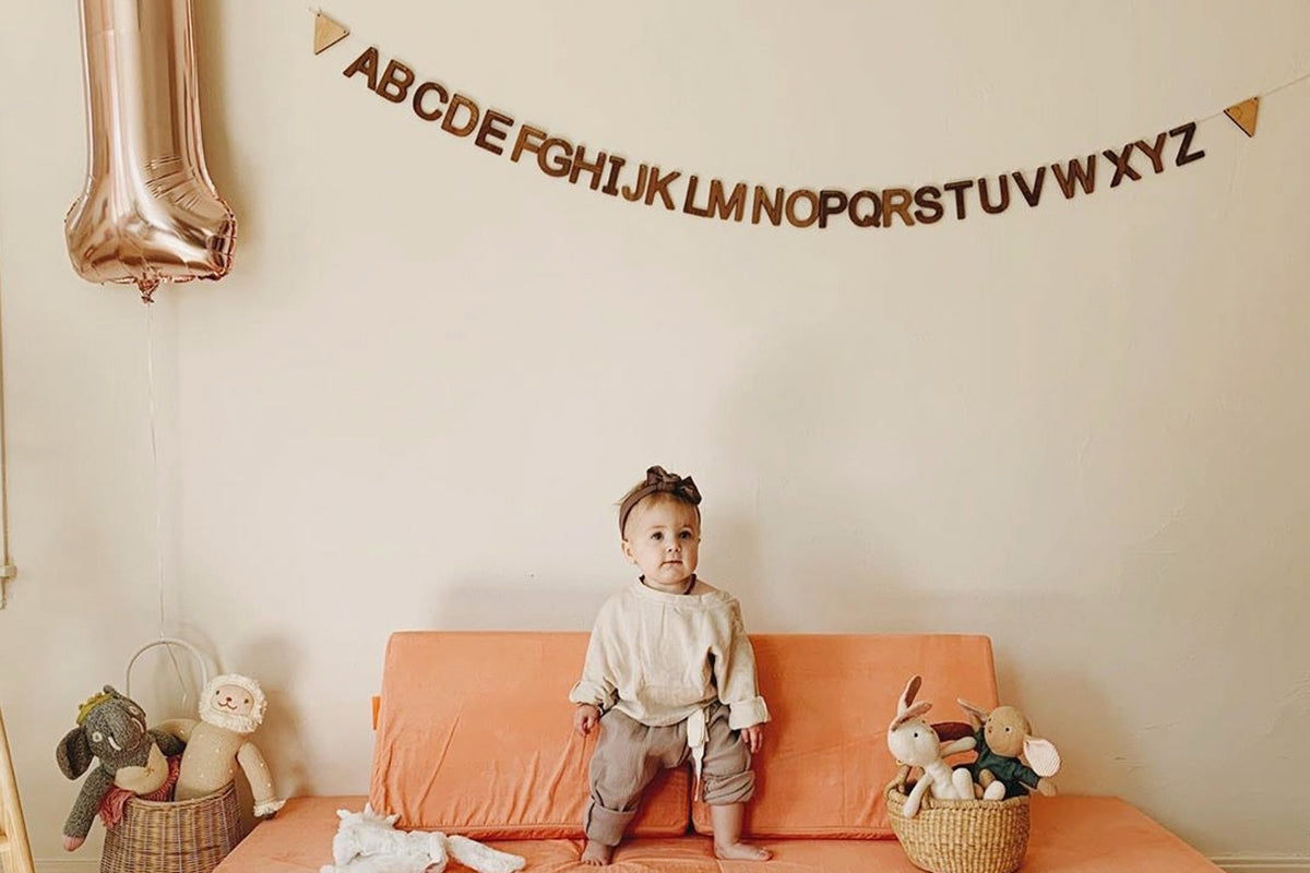 A-Z Alphabet Bunting Smiling Tree Toys
