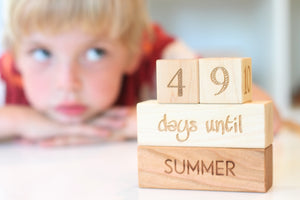 countdown blocks for kids summer birthday and Christmas
