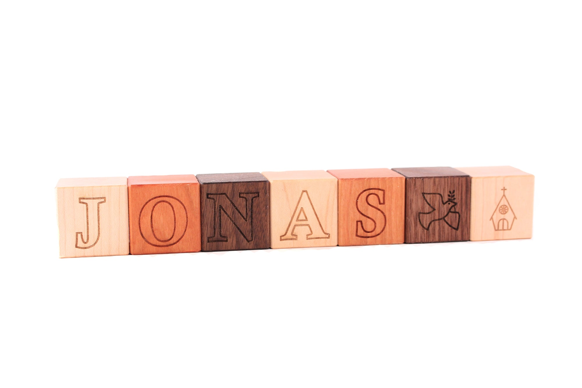 a66970b60241a baby baptism wooden name blocks - unique heirloom christening gift