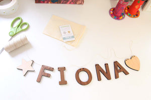 name sign nursery or children's bedroom decor