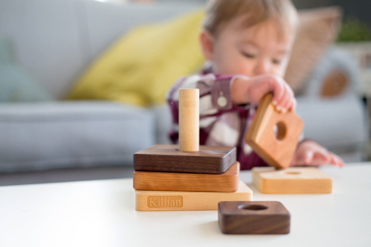 square stacking toy