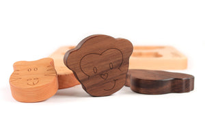 wooden puzzles - animal toy