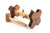 wooden peg pounding toy handmade