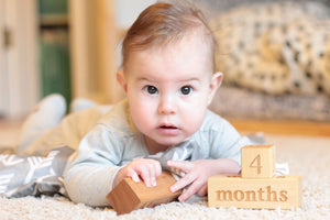 baby milestone blocks