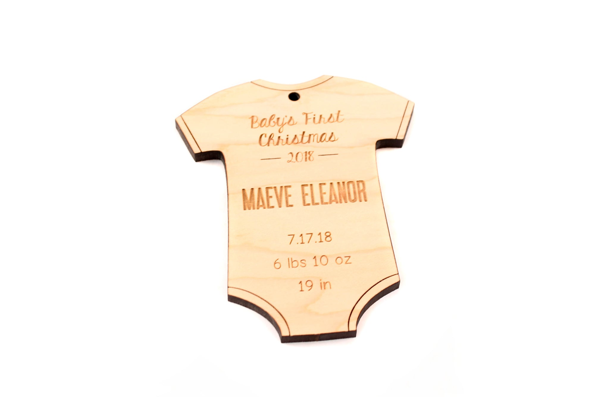 baby onesie ornament