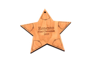 personalized star of bethlehem ornament