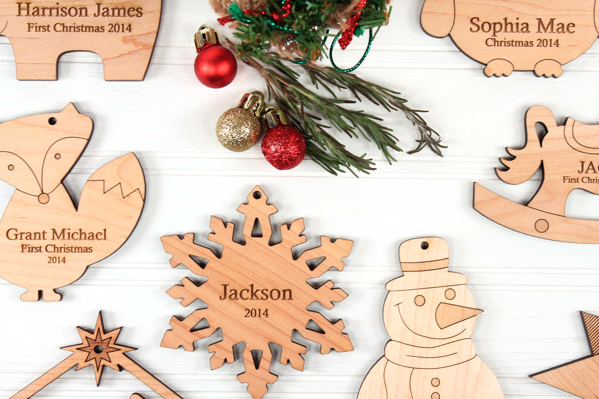 Christmas tree ornaments made in the USA