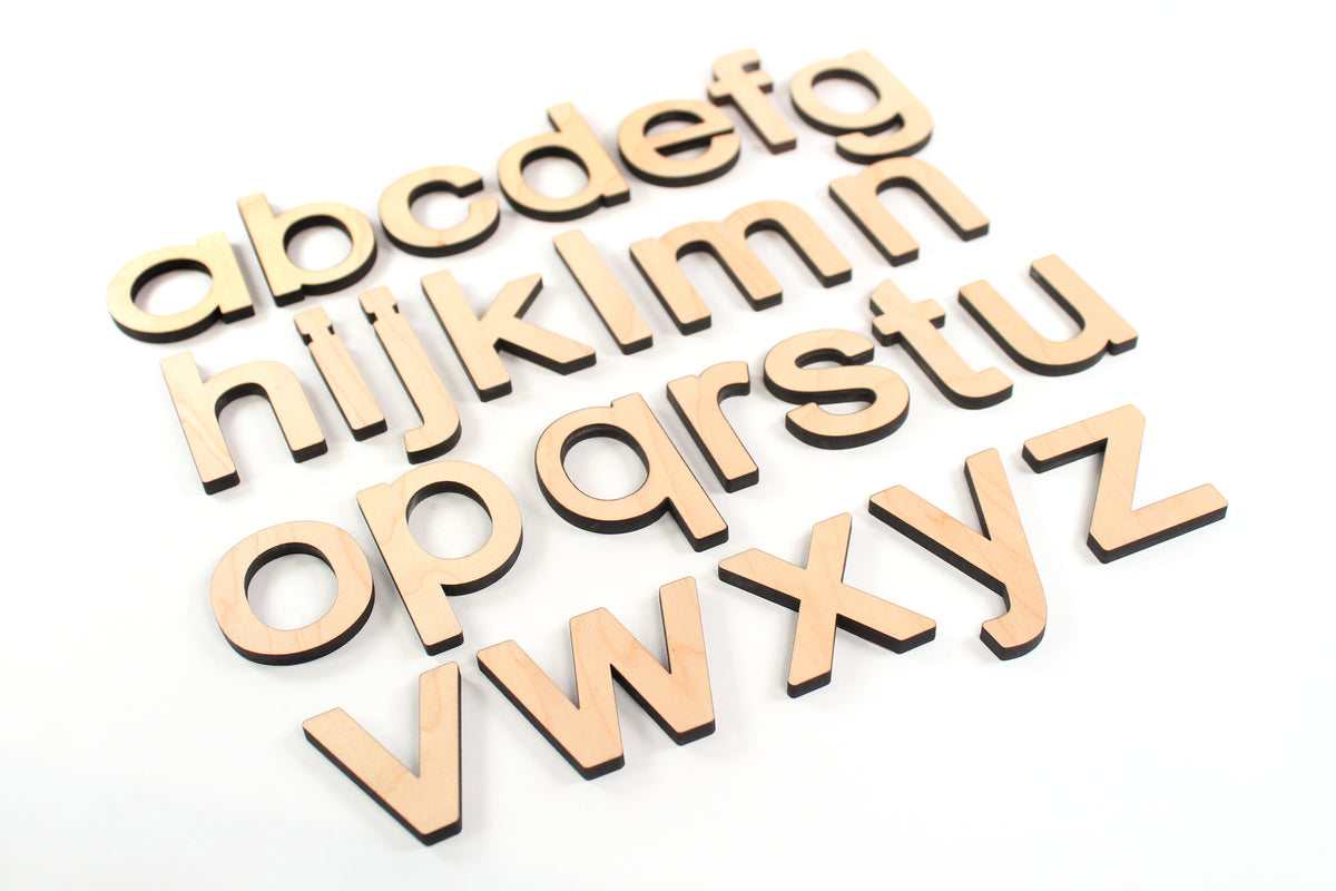 lowercase wooden alphabet box letters for learning