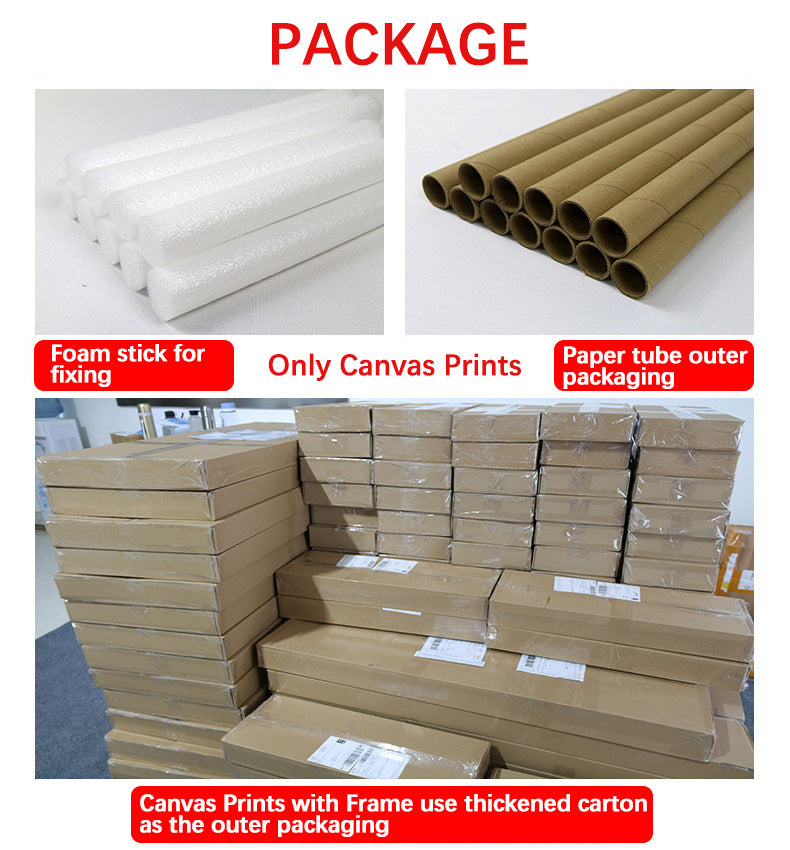 HiWallArt Multi Piece Canvas Painting Package