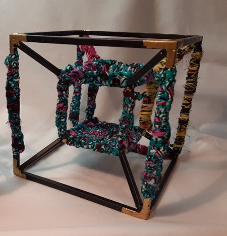 Cicely Metal Wire Cube