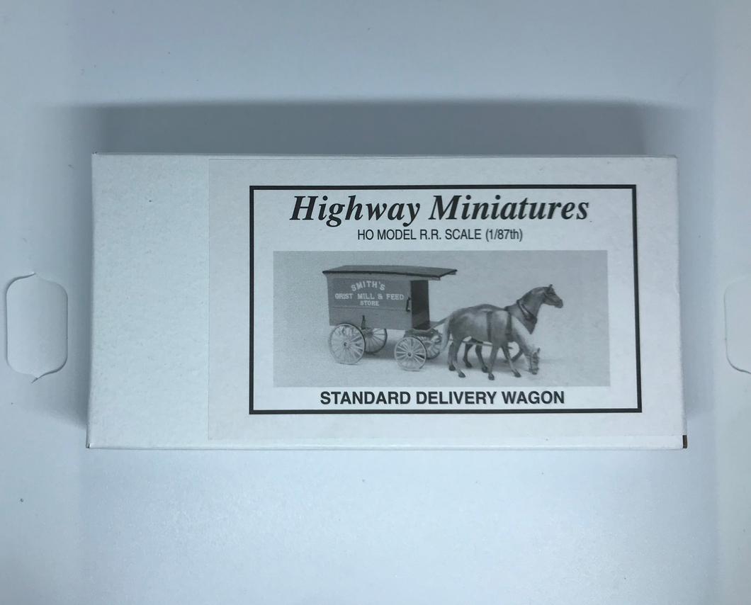 Jordan's Highway Miniatures - Standard Delivery Wagon