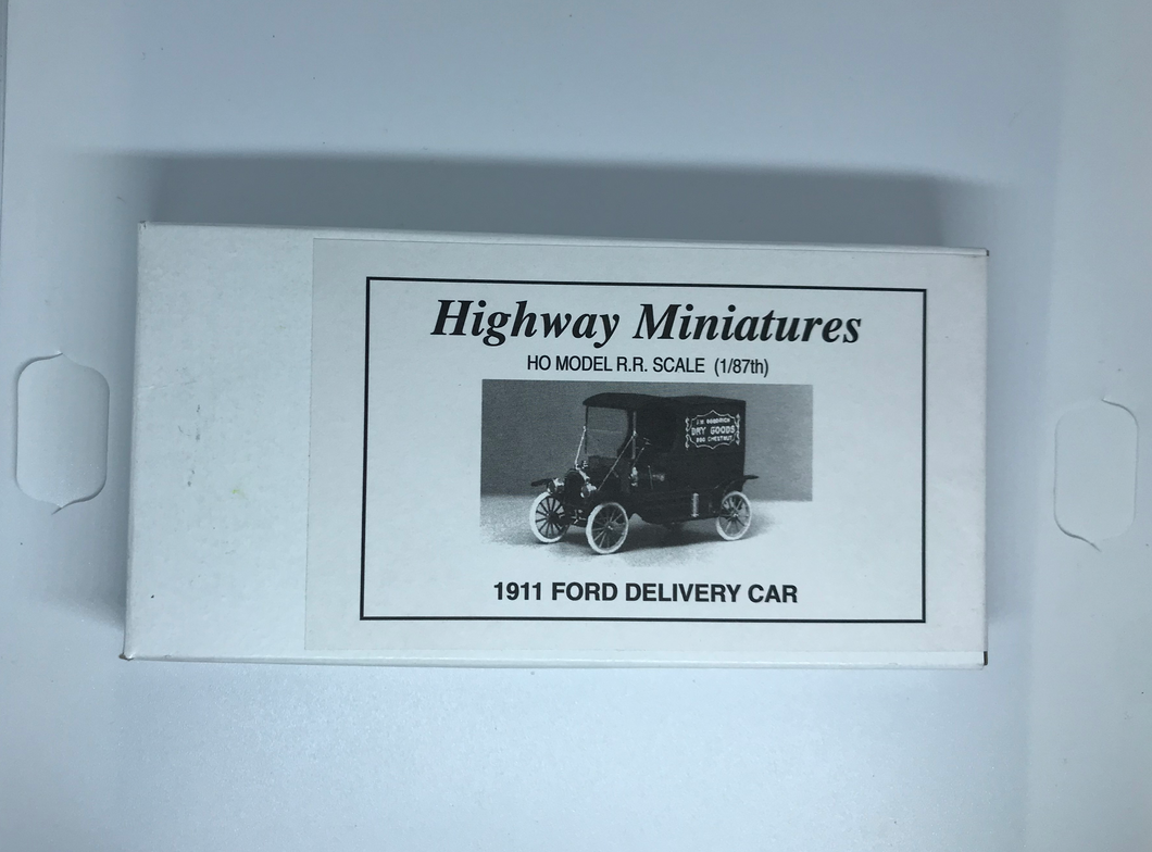 Jordan's Highway Miniatures - 1911 Ford Delivery car