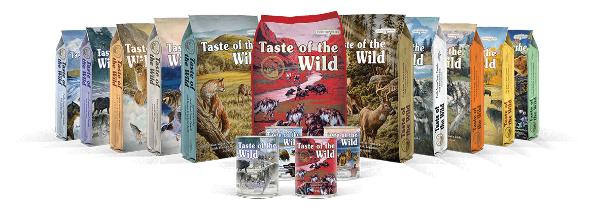 Taste of the wild family image