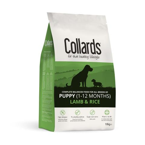 Collards Puppy Lamb And Rice Dog Food