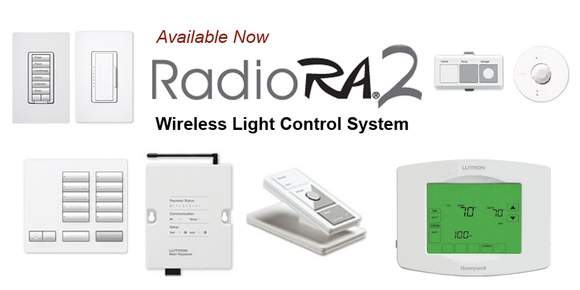 Lutron Radio RA2 - Wireless Light Control System