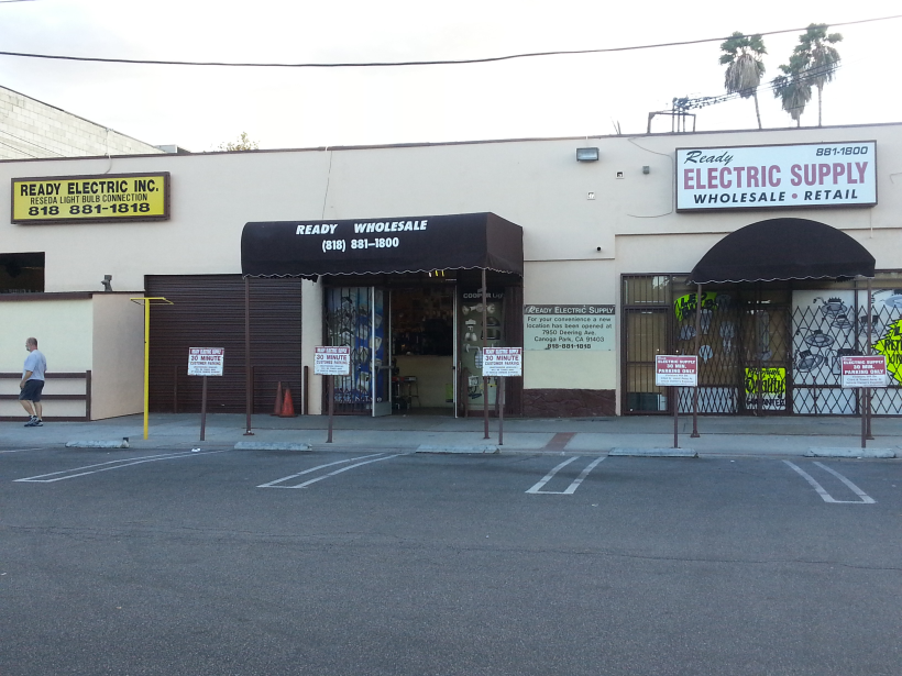 Ready Wholesale Electric Supply - Reseda Location