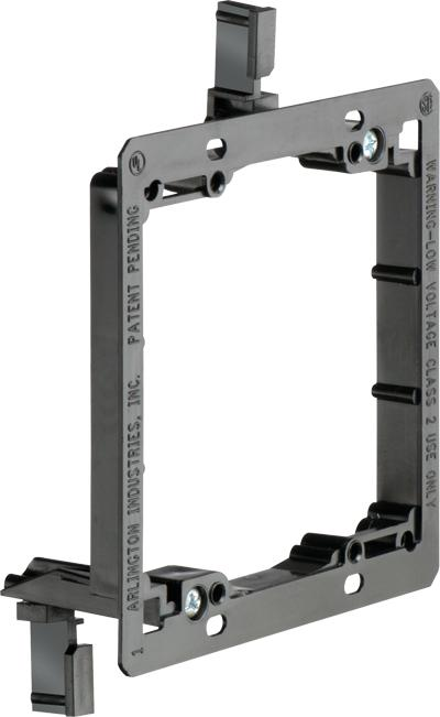 Arlington LV2 Two-Gang Low Voltage Mounting Brackets (Box of 5) - Ready Wholesale Electric Supply and Lighting