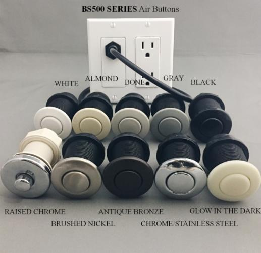 Better Switch BS500 Round Air Button & in Wall Air Switch - Ready Wholesale Electric Supply and Lighting