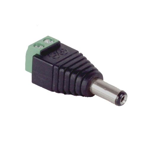 Core Lighting LSA-DCA-M - DC PLUGIN ADAPTOR (MALE) INDOOR - Ready Wholesale Electric Supply and Lighting