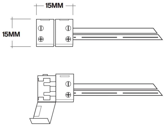 Core Lighting LSM-HW8-S10 - 8 Hardware Connector - Ready Wholesale Electric Supply and Lighting
