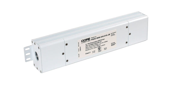Core Lighting PSDE-96W-24V-010-JB 96W CONSTANT VOLTAGE DIMMABLE DRIVER - Ready Wholesale Electric Supply and Lighting