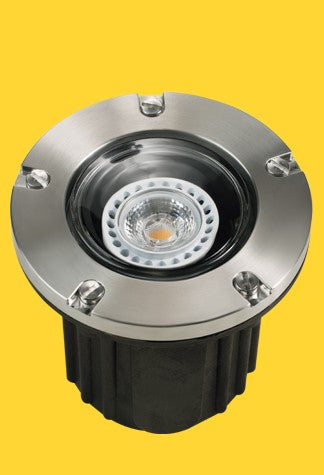 Corona Lighting CL-216-SS Composite Well Light, S. Steel, Stainless Steel Faceplate - Ready Wholesale Electric Supply and Lighting