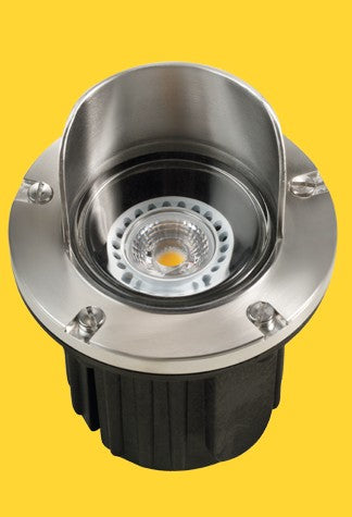 Corona Lighting CL-217-SS Composite Well Light, S. Steel, Stainless Steel Faceplate - Ready Wholesale Electric Supply and Lighting