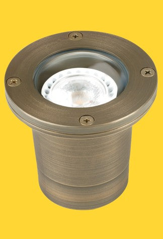 Corona Lighting CL-224-AB Brass Well Light - Ready Wholesale Electric Supply and Lighting
