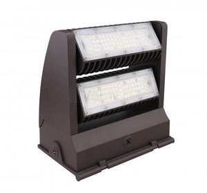 EnVisionLED LED-WPROT2-60WD-TRI-BZ - Wall Pack Rotating 3CCT 60W - Ready Wholesale Electric Supply and Lighting