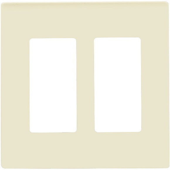 Enerlite SI8832-W 2-Gang Screwless Wall Plate Cover - Ready Wholesale Electric Supply and Lighting