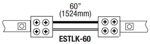 "GM Lighting ESTLK-60 Sure-Tite 60"" Adjustable Tape to Tape Connector - Ready Wholesale Electric Supply and Lighting"