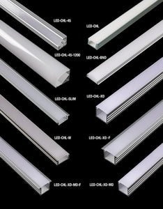 GM Lighting LED-CHL-XD-8 8 ft Extruded Aluminum Linear LED Tape Mounting Deep Channel - Ready Wholesale Electric Supply and Lighting