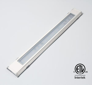 "GM Lighting LineTask UCSB-24-30-WH 24"" 120V 3000K Modular Undercabinet Lighting - White - Ready Wholesale Electric Supply and Lighting"