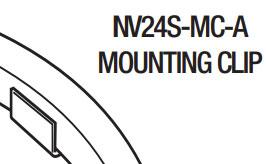 GM Lighting NV24S-MC-A - Aluminum mounting clips (Set of 20) - Ready Wholesale Electric Supply and Lighting