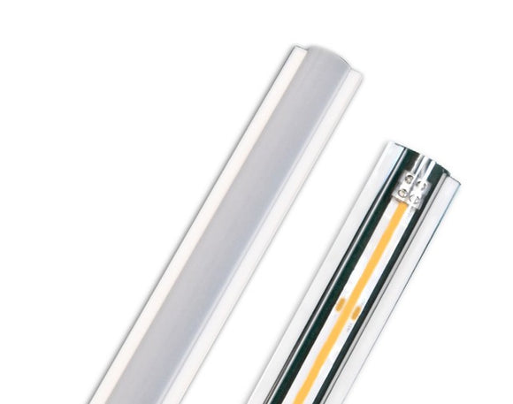 GM Lighting TOL4-CL 4 Ft. Clear Tape-Overlens Cover - Ready Wholesale Electric Supply and Lighting